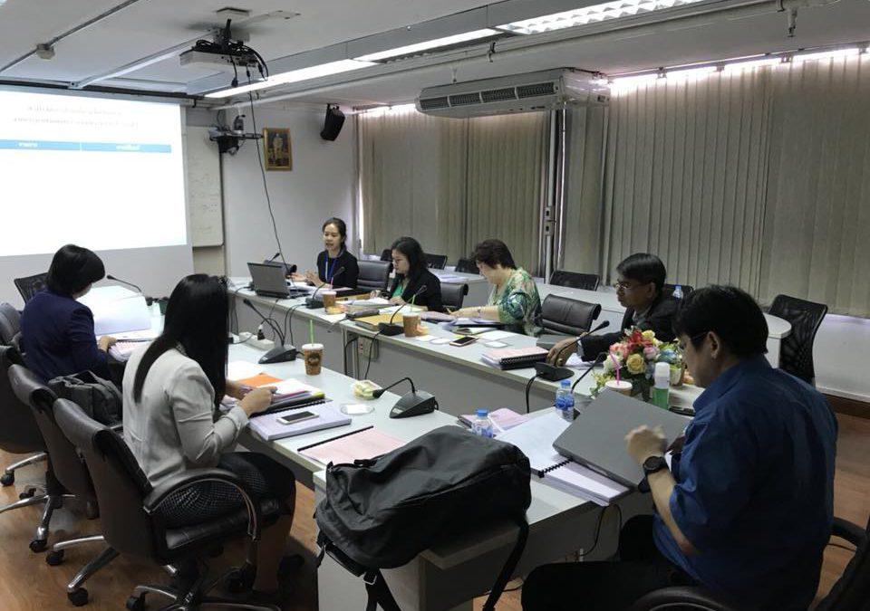 """ประชุมตรวจรับงานโครงการตามสัญญารับทุนเลขที่สัญญา 33/2560 งวดที่ 3 ครั้งที่ 2 """"โครงการพัฒนาเครื่องมือทดสอบวินิจฉัยอัจริยภาพด้วยเทคโนโลยีสารสนเทศ"""""""