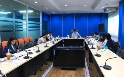 """ประชุมตรวจรับงานโครงการตามสัญญารับทุนเลขที่สัญญา 33/2560 งวดที่ 4 ครั้งที่ 2 """"โครงการพัฒนาเครื่องมือทดสอบวินิจฉัยอัจริยภาพด้วยเทคโนโลยีสารสนเทศ"""