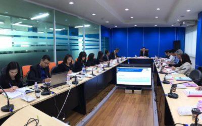 ประชุมคณะอนุกรรมการ ด้านแผนงานวิชาการ และจัดสรรเงินกองทุน ครั้งที่ 3/2561
