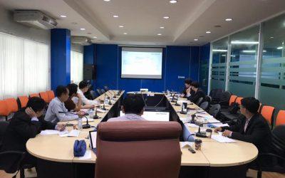 ประชุมตรวจรับโครงการจัดทำฐานข้อมูลความต้องการทักษะแรงงานด้วย Big Data เพื่อส่งเสริมการปฏิรูปการศึกษา งวดที่ 2