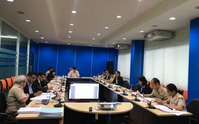 วันจันทร์ที่ 3 ธันวาคม 2561 เวลา 09.30 น. สำนักงานเลขานุการกองทุนพัฒนาเทคโนโลยีเพื่อการศึกษา ประชุมตรวจรับโครงการตามสัญญารับทุนเลขที่ 34/2561 งวดที่ 1 ครั้งที่ 2 โครงการการพัฒนาห้องฝึกจำลองการเดินเรือแบบเสมือนจริง (เครื่องกลเรือ)