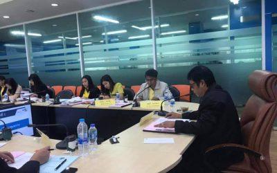 ประชุมคณะอนุกรรมการกองทุนพัฒนาเทคโนโลยีเพื่อการศึกษา ด้านการกำกับ ติดตาม และประเมินผลการดำเนินงานกองทุน ครั้งที่ 1/2562