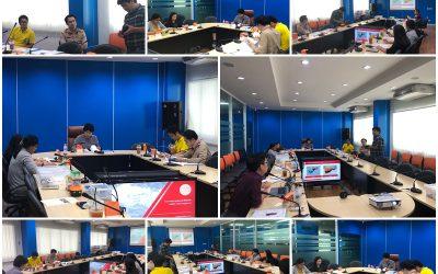 วันจันทร์ที่ 5 สิงหาคม พ.ศ. 2562 เวลา 13.30 น. สำนักงานเลขานุการกองทุนพัฒนาเทคโนโลยีเพื่อการศึกษา ประชุมคณะกรรมการตรวจรับโครงการตามสัญญารับทุนเลขที่สัญญา 5/2558 งวดที่ 4 โครงการการพัฒนาชุดหุ่นยนต์เพื่อส่งเสริมการศึกษา STEM แบบบูรณาการ ณ ห้องประชุมกองทุนพัฒนาเทคโนโลยีเพื่อการศึกษา อาคารกรมการฝึกหัดครู (เดิม) กระทรวงศึกษาธิการ