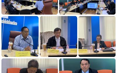 วันศุกร์ที่ 6 มีนาคม 2563 เวลา 09.00 น.- 13.30 น. สำนักงานเลขานุการกองทุนพัฒนาเทคโนโลยีเพื่อการศึกษา จัดการประชุมคณะอนุกรรมการกองทุนพัฒนาเทคโนโลยีเพื่อการศึกษา ด้านการพัฒนาแผนงานวิชาการ ยุทธศาสตร์ และการจัดสรรเงินกองทุน ครั้งที่ 4/2563 โดยมี รศ.ดร.ชโยดม สรรพศรี เป็นประธานการประชุมฯ ณ ห้องประชุมสำนักงานเลขานุการกองทุนพัฒนาเทคโนโลยีเพื่อการศึกษา (EdTech1) ชั้น 2 อาคารกรมฝึกหัดครู (เดิม) กระทรวงศึกษาธิการ เพื่อรายงานการดำเนินงานแผนปฏิบัติงานของกองทุนฯ