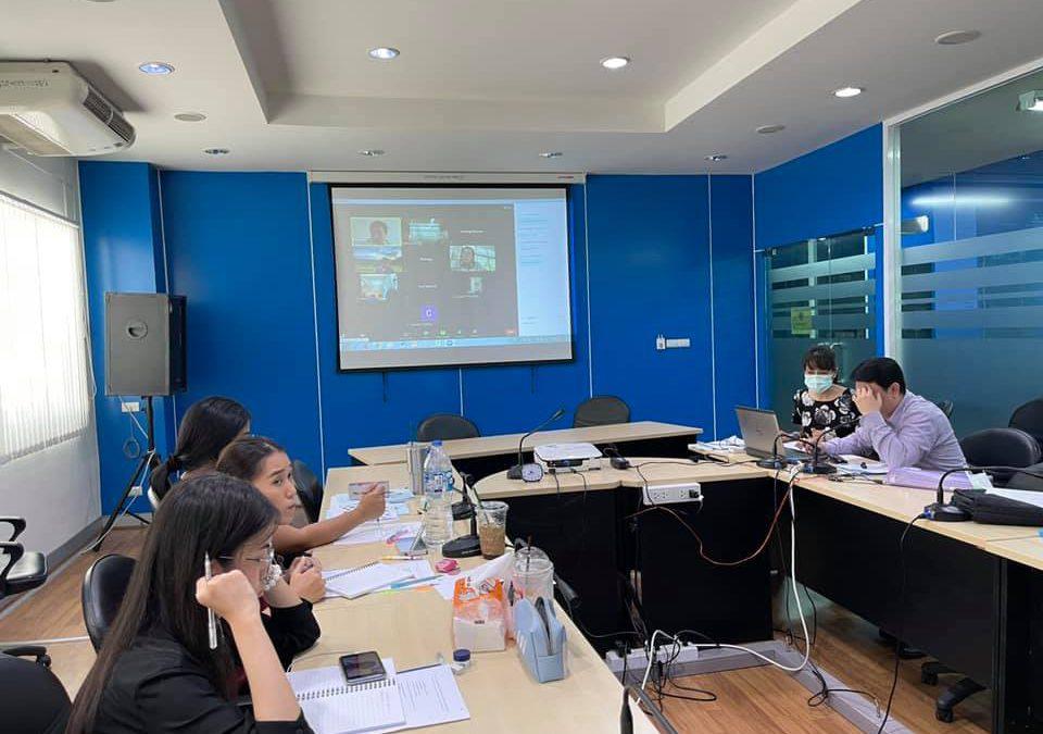 วันอังคารที่ 30 มีนาคม 2564 เวลา 09.00 น. สำนักงานเลขานุการกองทุนพัฒนาเทคโนโลยีเพื่อการศึกษา จัดประชุมออนไลน์ (Video Conference System) ใน Application : ZOOM Cloud Meetings คณะทำงานโครงการพัฒนาระบบการบริหารจัดการสารสนเทศที่สนับสนุนการตัดสินใจของผู้บริหาร (Executive Information System : EIS / Management Information System : MIS) ณ ห้องประชุมกองทุนพัฒนาเทคโนโลยีเพื่อการศึกษา อาคารกรมการฝึกหัดครู (เดิม) กระทรวงศึกษาธิการ