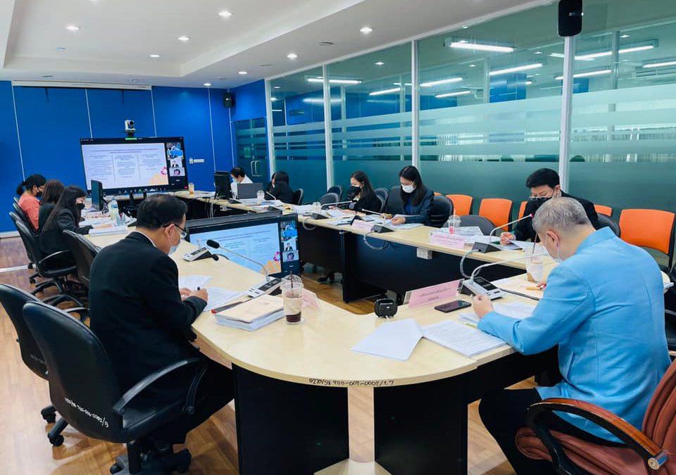 วันอังคารที่ 21 กันยายน พ.ศ. 2564 เวลา 09.30 น. นายสุภัทร จำปาทอง ปลัดกระทรวงศึกษาธิการ ให้เกียรติเป็นประธานการประชุมคณะกรรมการบริหารกองทุน ครั้งที่ 7/2564 ณ ห้องประชุมสำนักงานเลขานุการกองทุนพัฒนาเทคโนโลยีเพื่อการศึกษา (EdTech 1) ชั้น 2 อาคารกรมการฝึกหัดครู (เดิม) กระทรวงศึกษาธิการ