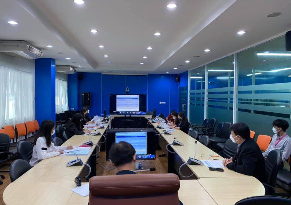 วันพุธที่ 22 กันยายน พ.ศ. 2564 เวลา 13.30 น. นายปรีดี ภูสีน้ำ ผู้ตรวจราชการกระทรวงศึกษาธิการ ให้เกียรติเป็นประธานการประชุมการจัดทำตัวชี้วัดประเมินผลการดำเนินงานกองทุนพัฒนาเสคโนโลยีเพื่อการศึกษา ประจำปีบัญชี 2565 ระหว่างกองทุนพัฒนาเทคโนโลยีเพื่อการศึกษา กรมบัญชีกลางและบริษัททริส คอร์ปอเรชั่น ณ ห้องประชุมสำนักงานเลขานุการกองทุนพัฒนาเทคโนโลยีเพื่อการศึกษา (EdTech 1) ชั้น 2 อาคารกรมการฝึกหัดครู (เดิม) กระทรวงศึกษาธิการ